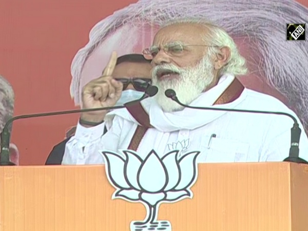 Bihar polls: People have resolved to defeat those who brought 'jungle raj' in state, says PM Modi