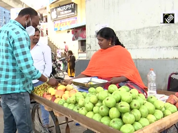 This specially-abled woman in Hyderabad sells fruits to sustain her livelihood