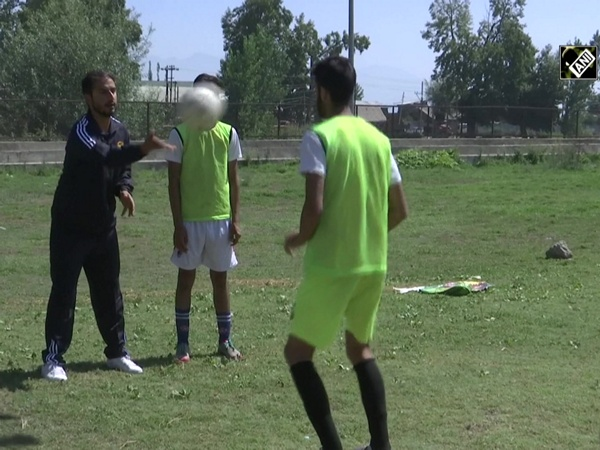 National level football player grooms young sports enthusiasts in J&K's Ganderbal