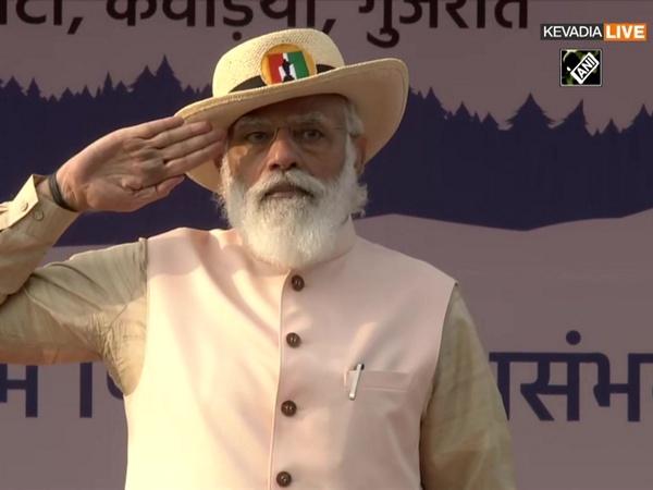 PM Modi attends 'Rashtriya Ekta Diwas' parade on birth anniversary of Sardar Patel