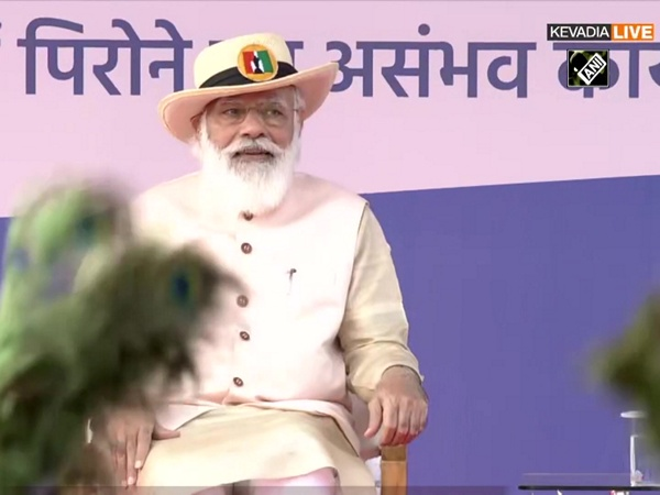Watch: PM Modi attends cultural programme at 'Statue of Unity'