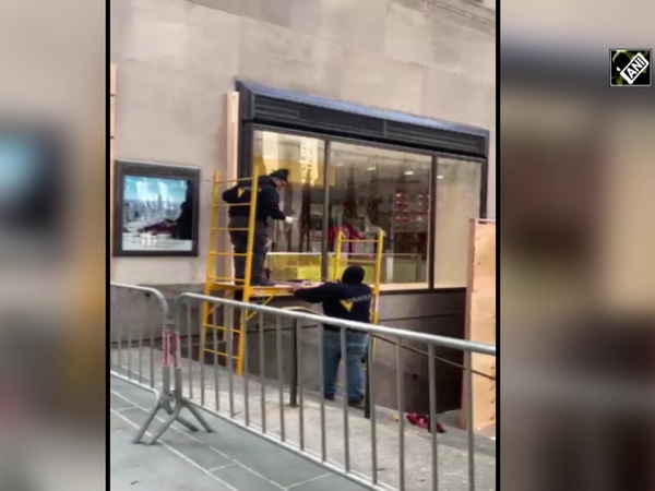Watch: High-end stores board up in New York, US Presidential Elections underway