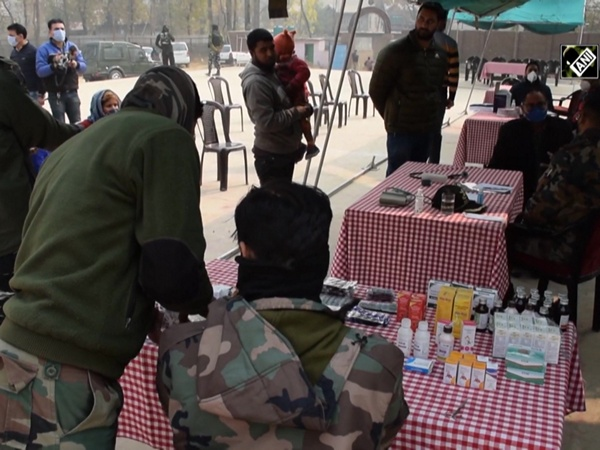 Indian Army organises medical camp for villagers in J&K's Pulwama