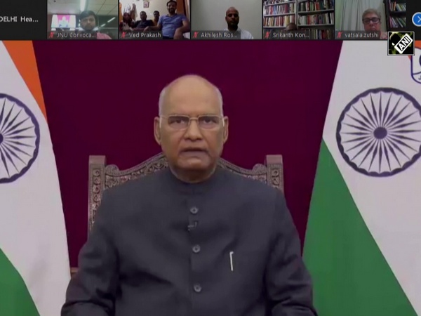 President Kovind virtually attends JNU's fourth annual convocation ceremony