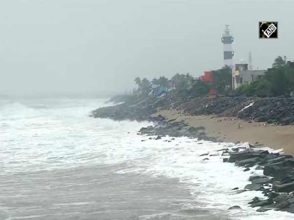 Watch: Sea rough in Puducherry as cyclonic storm Nivar to cross Tamil Nadu coast