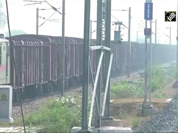 India's first High speed Crossover introduced by DFCCIL