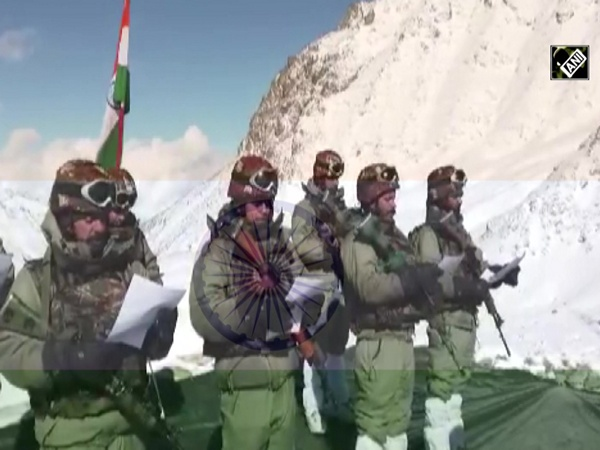 Watch: Soldiers of Indian Armed Forces read Preamble to the Constitution