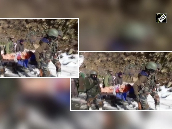 Watch: Indian Army helps new mother to reach home amid heavy snowfall