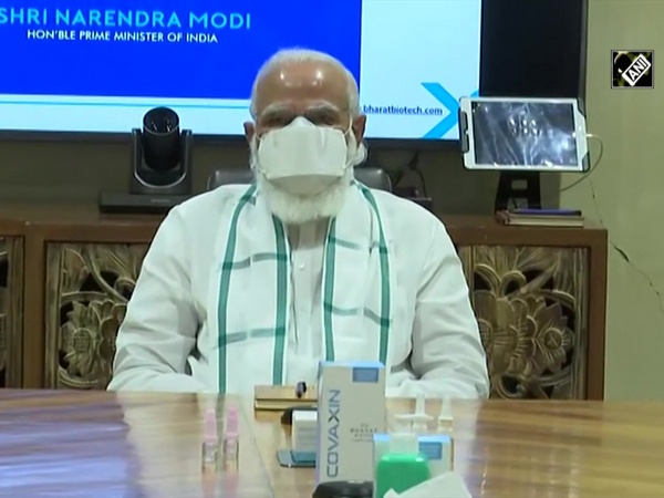 PM Modi visits Bharat Biotech facility to review COVID vaccine development