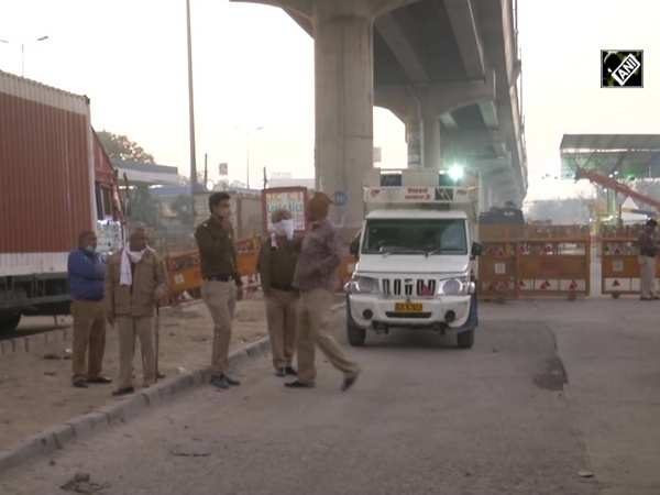 Traffic movement hit as Tikri border closed amid 'Delhi Chalo' protest