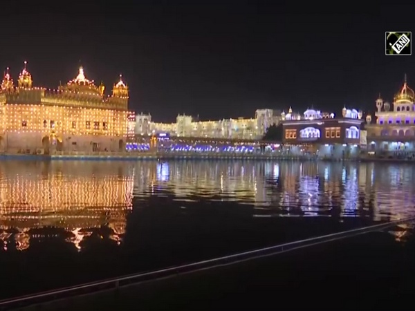 Watch: Golden Temple lights up on Prakash Parv