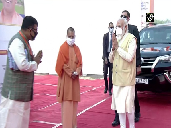 PM Narendra Modi arrives in Varanasi