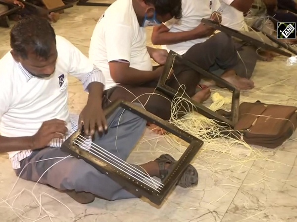 Visually challenged persons sets world record, weaves 50 chairs in 6 hours in Chennai