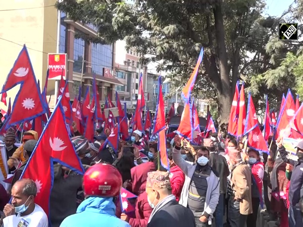 Mass demonstration held in Nepal to demand restoration of monarchy