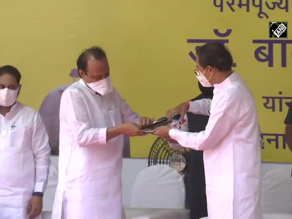 Maharashtra CM Thackeray, Governor Bhagat Koshyari pay tribute to Dr Ambedkar