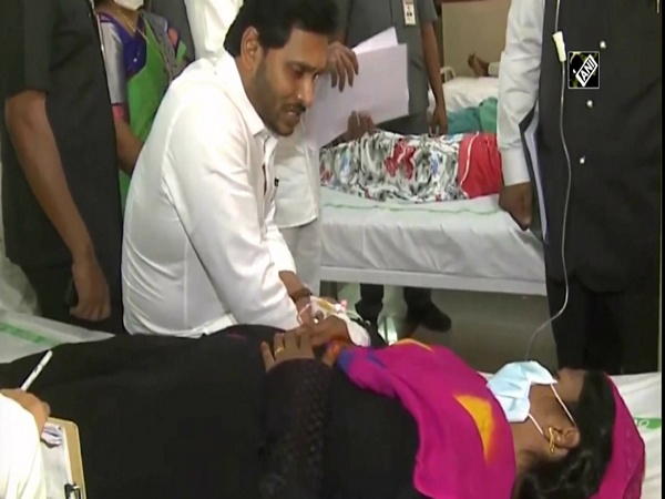 Andhra CM meets patients of 'mystery' illness which affected nearly 300