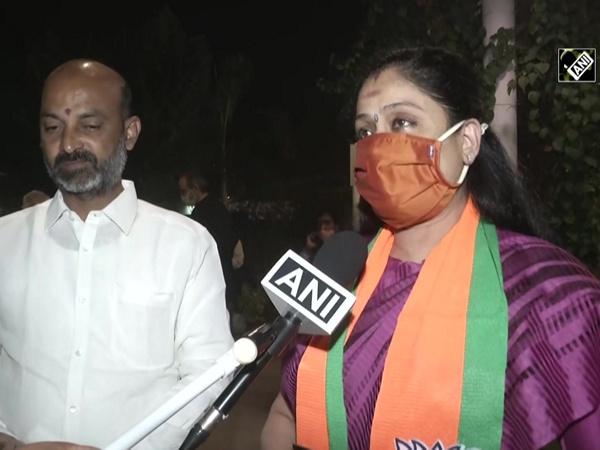 Actor-turned-politician Vijayashanti meets JP Nadda after joining BJP