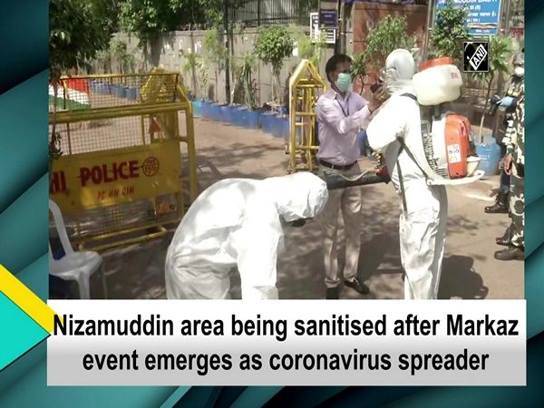 Nizamuddin area being sanitised after Markaz event emerges as coronavirus spreader