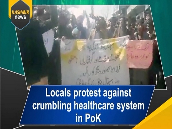 Locals protest against crumbling healthcare system in PoK