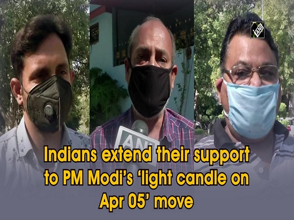 Indians extend their support to PM Modi's 'light candle on Apr 05' move
