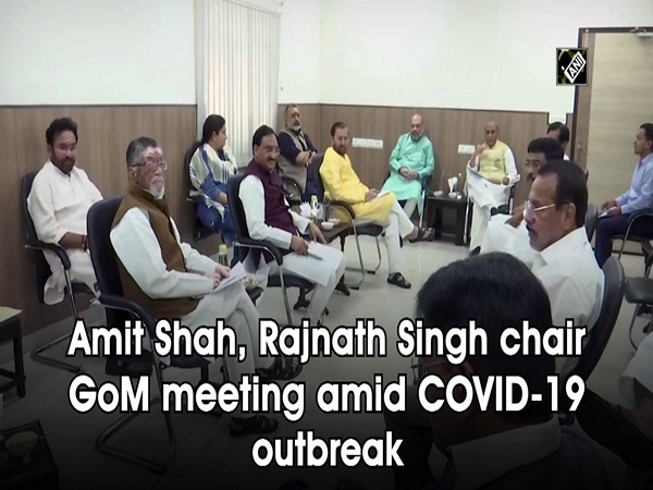 Amit Shah, Rajnath Singh chair GoM meeting amid COVID-19 outbreak