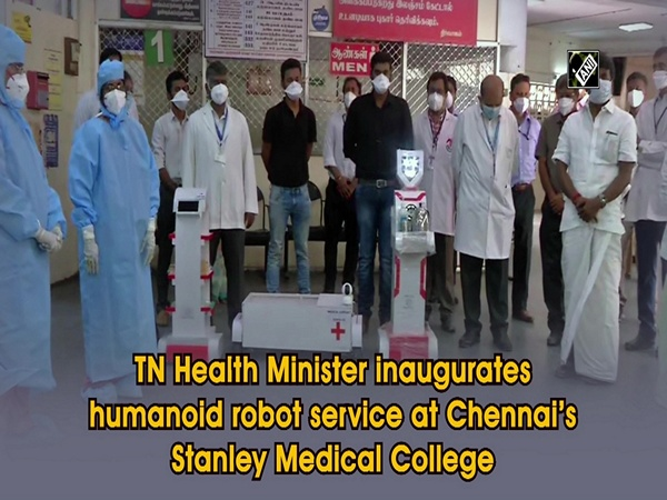 TN Health Minister inaugurates humanoid robot service at Chennai's Stanley Medical College