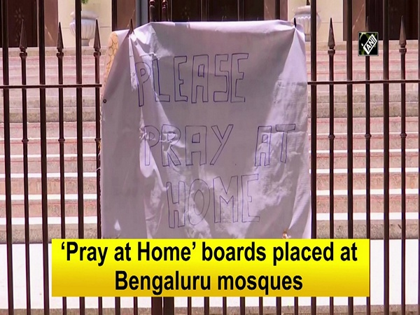 'Pray at Home' boards placed at Bengaluru mosques