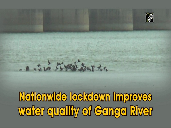 Nationwide lockdown improves water quality of Ganga River
