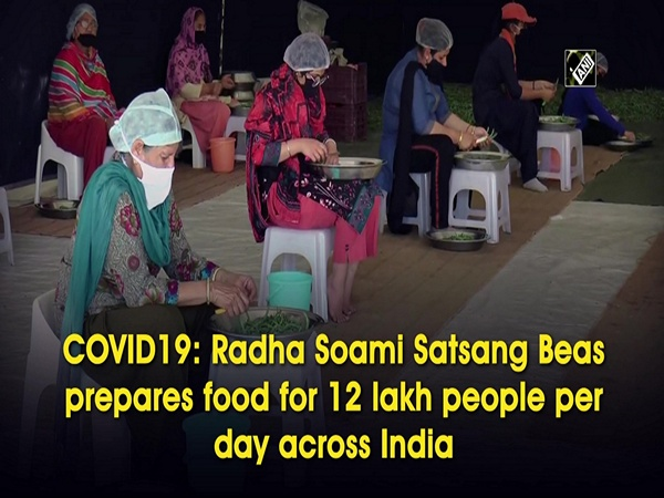 COVID19: Radha Soami Satsang Beas prepares food for 12 lakh people per day across India