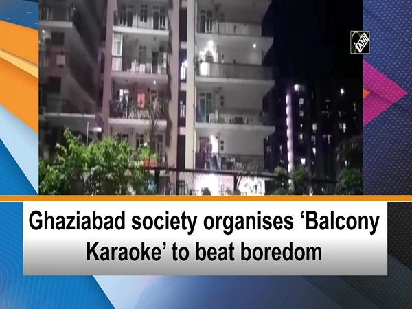 Ghaziabad society organises 'Balcony Karaoke' to beat boredom