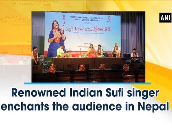 Renowned Indian Sufi singer enchants the audience in Nepal