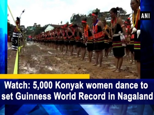 Watch: 5,000 Konyak women dance to set Guinness World Record in Nagaland