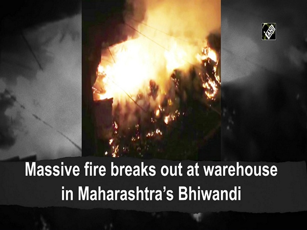 Massive fire breaks out at warehouse in Maharashtra's Bhiwandi