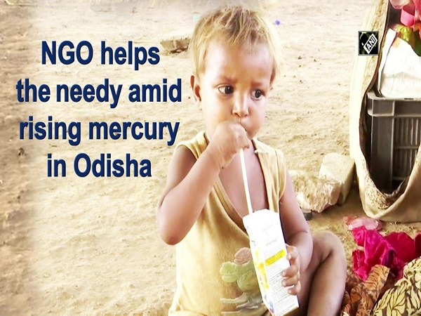 NGO helps the needy amid rising mercury in Odisha