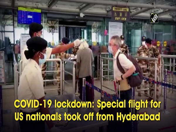 Special flight for US nationals took off from Hyderabad