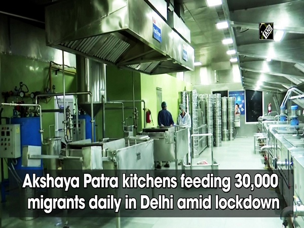 Akshaya Patra kitchens feeding 30,000 migrants daily in Delhi amid lockdown