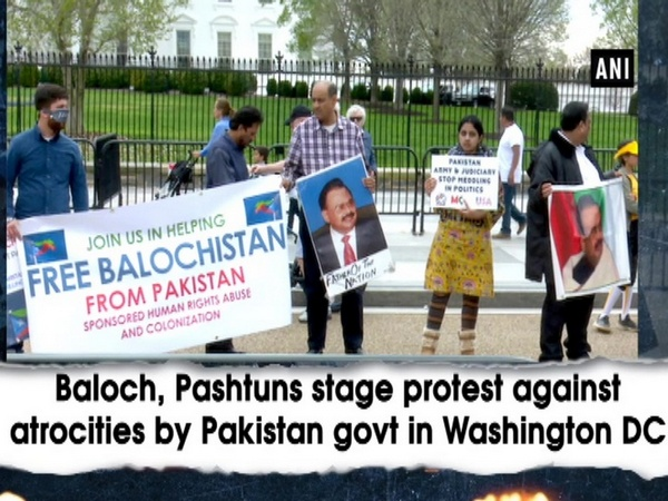 Baloch, Pashtuns stage protest against atrocities by Pakistan govt in Washington DC