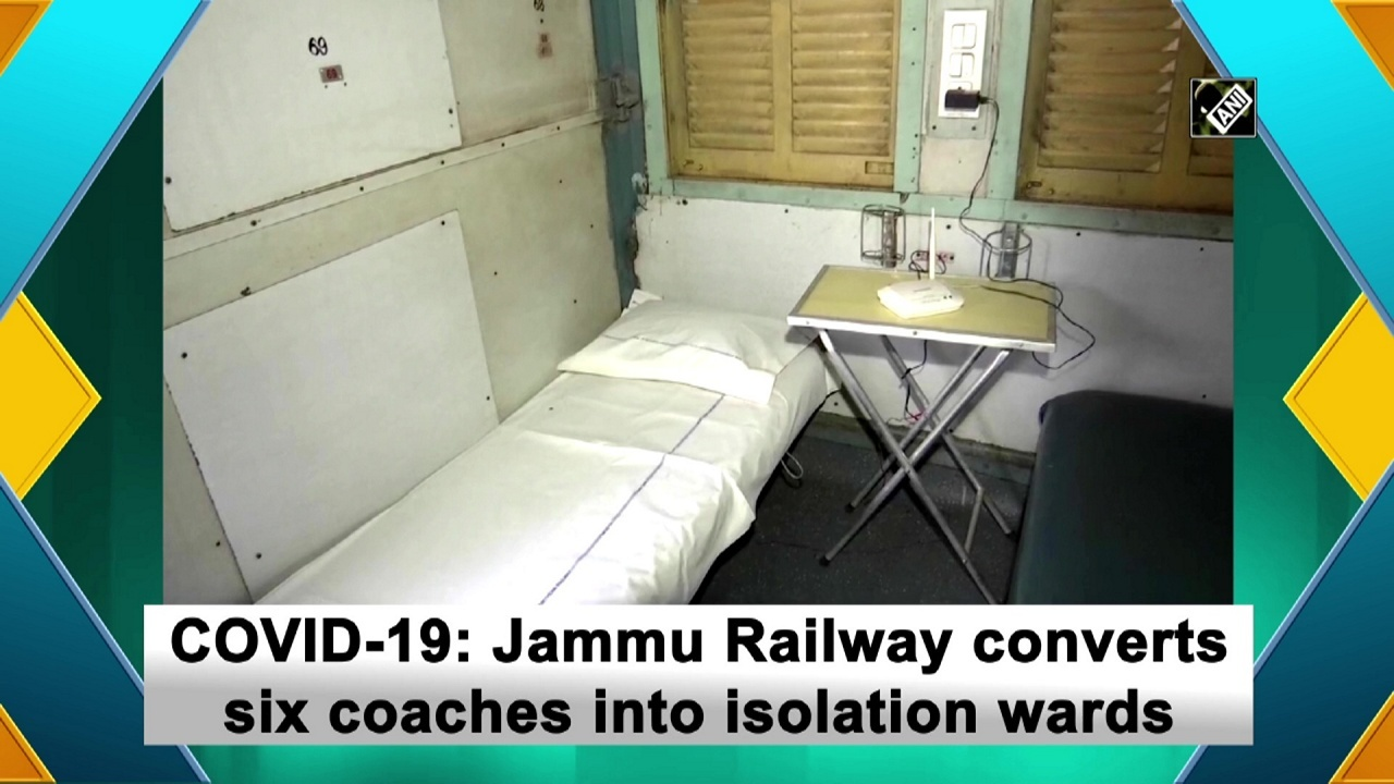 COVID-19: Jammu Railway converts six coaches into isolation wards