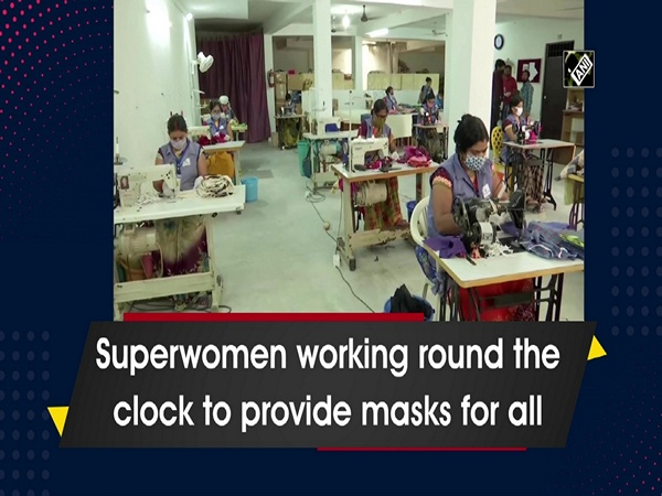 Superwomen working round the clock to provide masks for all