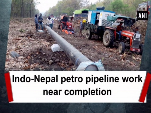 Indo-Nepal petro pipeline work near completion