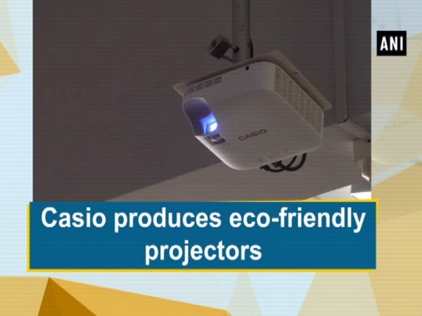 Casio produces eco-friendly projectors