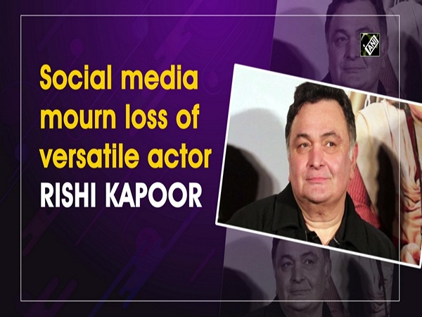 Social media mourn loss of versatile actor Rishi Kapoor