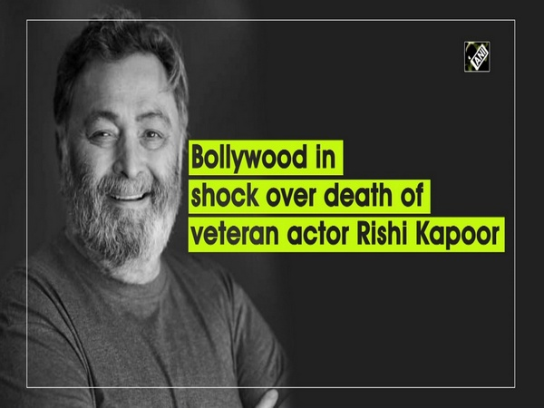 Bollywood in shock over death of veteran actor Rishi Kapoor
