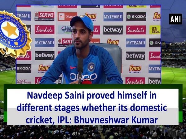Navdeep Saini proved himself in different stages whether its domestic cricket, IPL: Bhuvneshwar Kumar