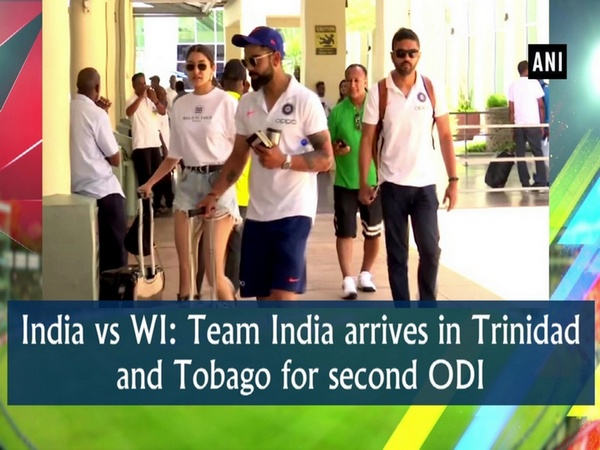 India vs WI: Team India arrives in Trinidad and Tobago for second ODI