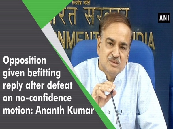 Opposition given befitting reply after defeat on no-confidence motion: Ananth Kumar