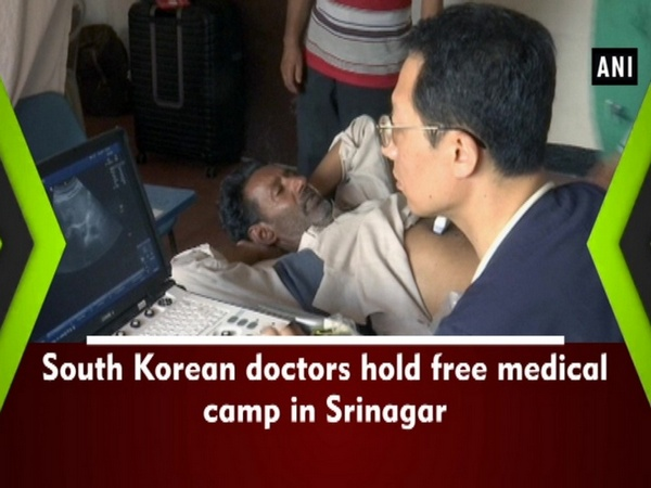 South Korean doctors hold free medical camp in Srinagar