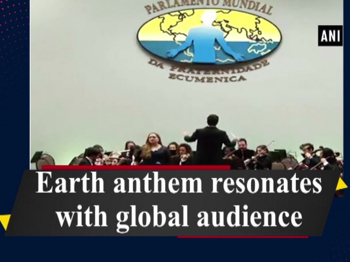 Earth anthem resonates with global audience