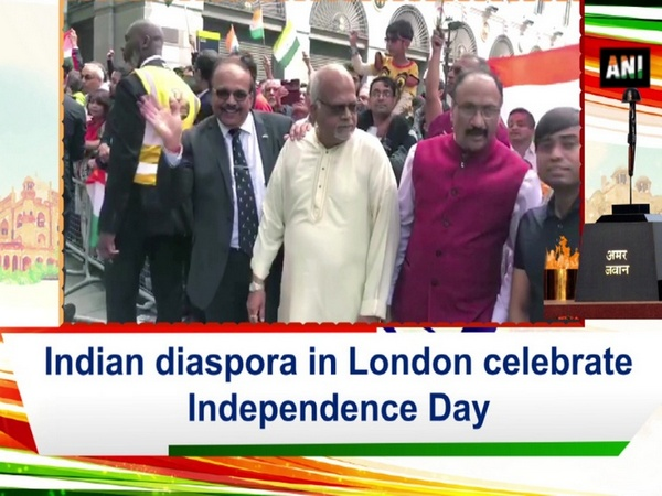 Indian diaspora in London celebrate Independence Day