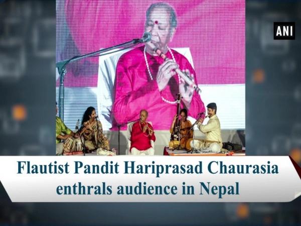 Flautist Pandit Hariprasad Chaurasia enthrals audience in Nepal